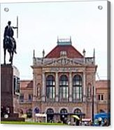 Central Railway Station Zagreb Acrylic Print
