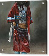 Ceremonial Red Acrylic Print