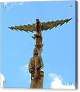 Ceremonial Totem Rw2k14 Acrylic Print