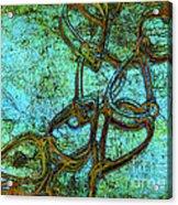 Chain Mail Acrylic Print