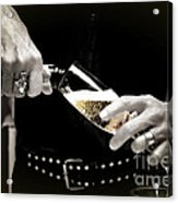 Champagne Toast Acrylic Print