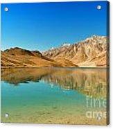 Chandratal Lake Acrylic Print