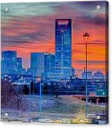 Charlotte Downtown   Acrylic Print