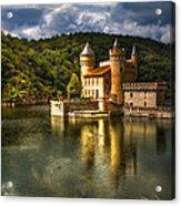 Chateau De La Roche Acrylic Print