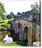 Chatsworth Bridge Acrylic Print