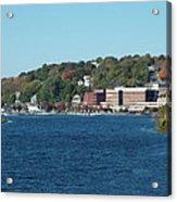 Chelsea Harbor In Fall Acrylic Print