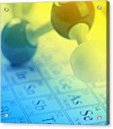 Chemistry Concept Acrylic Print