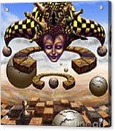 The Chess Master Acrylic Print