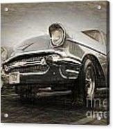 Chevrolet Belair 1957 Acrylic Print