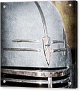 Chevrolet Hood Emblem - Grille Emblem Acrylic Print