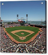 Chicago Cubs V San Francisco Giants Acrylic Print