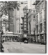 Chicago Theatre - French Baroque Out Of A Movie Acrylic Print