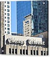 Chicago Tribune Acrylic Print
