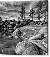 Chimney Beach Lake Tahoe Acrylic Print