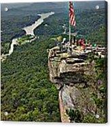 Chimney Rock Overlook Acrylic Print