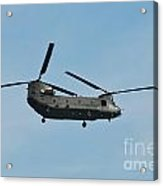 Chinook Hc2 Helicopter Acrylic Print