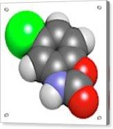 Chlorzoxazone Muscle Relaxant Drug Acrylic Print