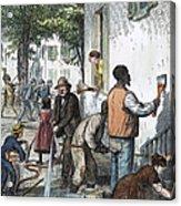 Cholera Epidemic, 1873 Acrylic Print