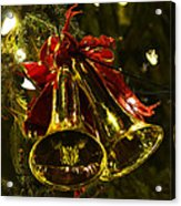 Christmas Bells Ornaments Faneuil Hall Tree Boston Acrylic Print
