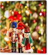 Christmas Figures Acrylic Print