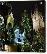 Christmas In Prague Acrylic Print