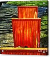 Christo - The Gates - Project For Central Park Acrylic Print