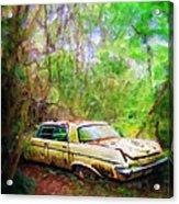 Chrysler Imperial Acrylic Print
