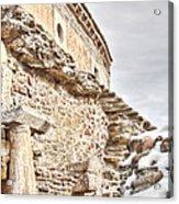 Church Detail Acrylic Print by Gabriela Insuratelu