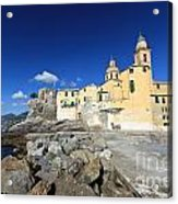 church in Camogli Acrylic Print