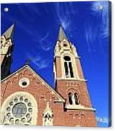 Church In The Clouds Acrylic Print