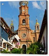 Church Of Our Lady Of Guadalupe (la Acrylic Print