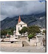 Church Of St.mark Makarska Acrylic Print