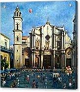 Church Square Havana Acrylic Print