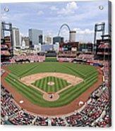 Cincinnati Reds V. St. Louis Cardinals Acrylic Print