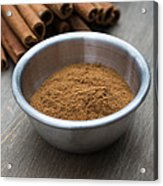 Cinnamon Spice Acrylic Print