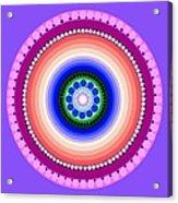 Circle Motif 224 Acrylic Print