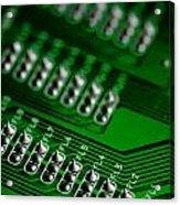 Circuit Board Bokeh Acrylic Print
