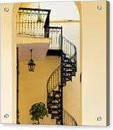 Circular Staircase Acrylic Print