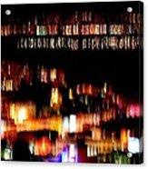 City Lights Acrylic Print by Mamie Gunning