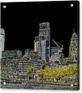 City Of London Art Acrylic Print