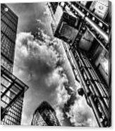 City Of London Iconic Buildings Acrylic Print
