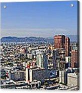 City Of Los Angeles Acrylic Print