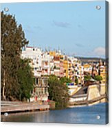 City Of Seville In Spain Acrylic Print