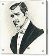 Clark Gable Acrylic Print