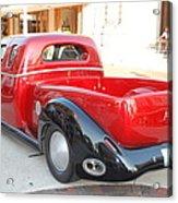 Classic Custom Pickup Truck Acrylic Print