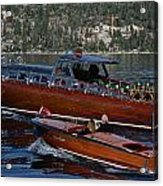 Classic Tahoe Runabouts Acrylic Print