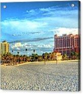 Clearwater Beach Acrylic Print