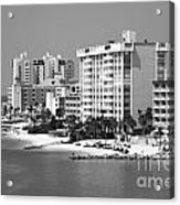 Clearwater Beach Florida Acrylic Print