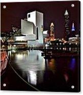 Cleveland Lakefront Acrylic Print