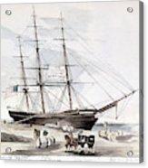 Clipper Flying Cloud, 1851 Acrylic Print